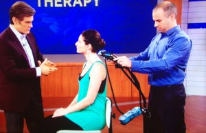 Dr. Shoshany has demonstrated his cold laser therapy technique on daytime television.