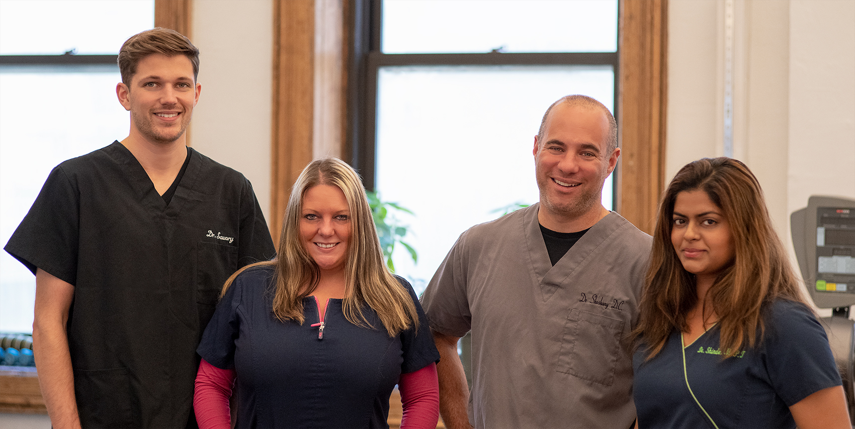 dr shoshany and his team of chiropractors, physical therapists, and massage therapists